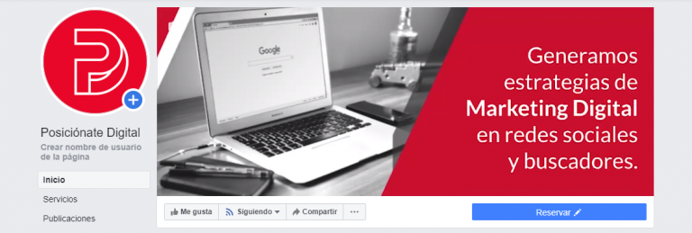 Facebook de Posiciónate Digital agencia de Marketing