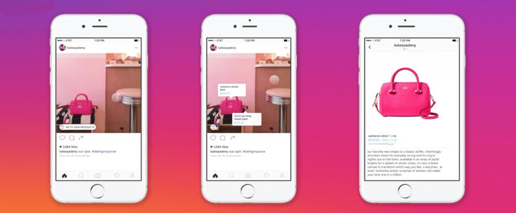 Instagram shopping como usarlo