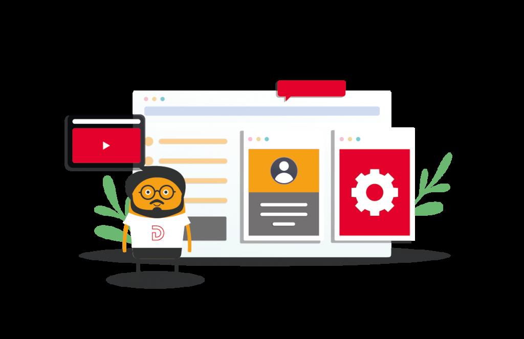 Agencia de marketing digital con servicios en diseño web