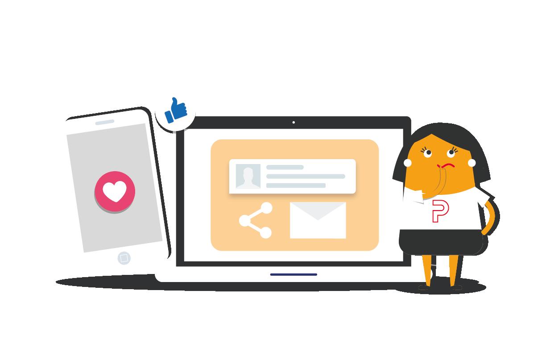 Agencia de marketing digital con servicios en generar contenido y email marketing